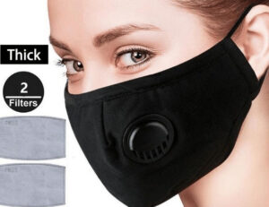 Breathable Mask with filter