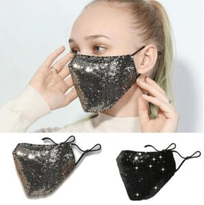 Sequins Party Mask